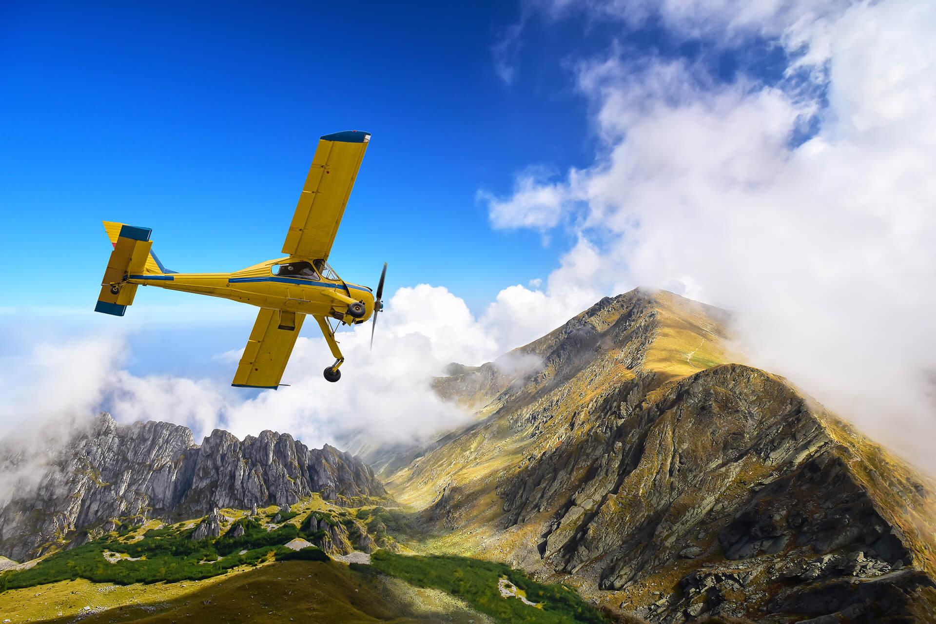 Полет на прогулочном самолете В Красноярске